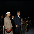 President John F. Kennedy and Prime Minister of India Jawaharlal Nehru Attend Arrival Ceremonies.jpg