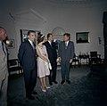 President John F. Kennedy with Prince Juan Carlos of Spain and Princess Sophia of Greece (01).jpg