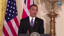 File:President Obama and Prime Minister Cameron at the White House.webm