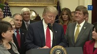 File:President Trump Signs the WOTUS Executive Order.webm