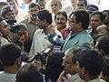 Press Conference - Shatrughan Sinha - Maritime Centre Inauguration - Science City - Kolkata 2003-10-17 00474.JPG