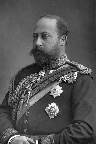 W. & D. Downey - Edward VII as Prince of Wales by Downey