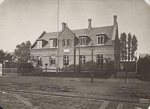 Rantzausgade - Prinsesse Thyras Asyl, a private kindergarten opened on the street in 1878