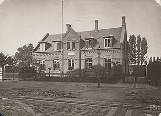 Rantzausgade - Prinsesse Thyras Asyl, a private kindergarten opened on the street in 1878