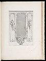 Print, Developement d'un Trumeau de glace fait pour le Portugal; Projet de trumeau avec variante pour le Portugal, 3rd Plate, 1740 (CH 18222695-2).jpg