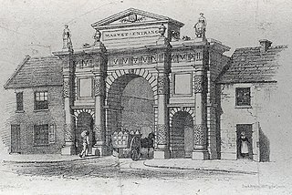 Proposed entrance to Carmarthen Market