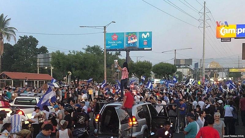 File:Protestas en Managua, Nicaragua de 2018 (1).jpg