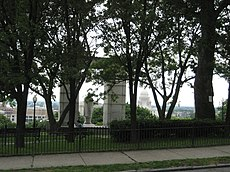 Williams' final resting place in Prospect Terrace Park