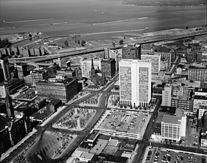 One M&T Plaza - Image: Prudential Building (Buffalo, NY) 116417pv