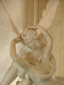 Psyché ranimée par le baiser de l'Amour par Antonio Canova