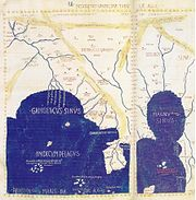 d138de0fd0051 Detail of Asia in Ptolemy s world map. Gulf of the Ganges left