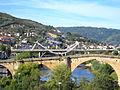 Puente Romano-Ponte Romana y Puente del Milenio-Ponte do Milenio. Ourense..JPG