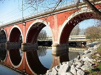 Puente de los Franceses (Madrid) - Puente de los Franceses, across the River Manzanares.