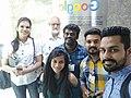 Punjabi Wikimedians at Google Office, India.jpg