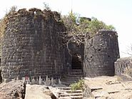 Purandar Fort entrance 2