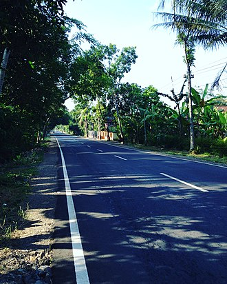 Purworejo Regency - Image: Pwr Cycling 1