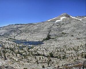 Pyramid Lake (El Dorado County, California) - At the base of Pyramid Peak in the Crystal Mountains