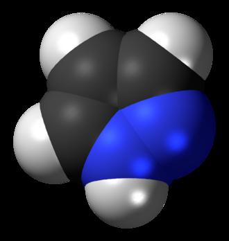 Pyrazole - Image: Pyrazole 3D spacefills