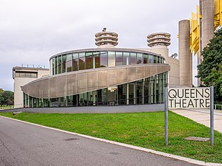 Queens Theatre in the Park theater in Queens, New York City