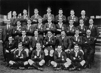 Queensland rugby league team - 1924 Queensland side – captain Jim Craig