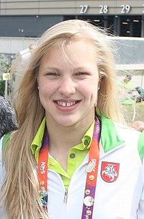 Rūta Meilutytė Lithuanian swimmer