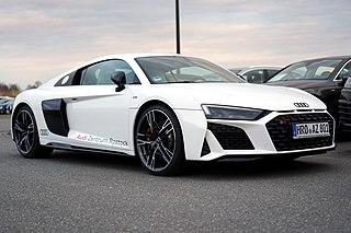 Audi R8 Mid-engine sports car manufactured by German automobile manufacturer Audi