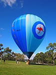 RAAF balloon VH-LVD at the 2013 AWM open day 2.jpg