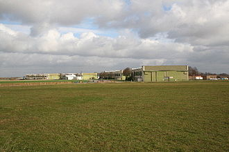 RAF Hemswell - Hangars and buildings still standing at Hemswell