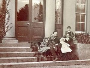 Robert William Escourt Ashe - Ashe and his family.