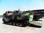 ROCMC AAV-7A1 in ROCA Infantry School Ground Opened Rear Door 20120211a.jpg