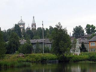 Vytegra Town in Vologda Oblast, Russia