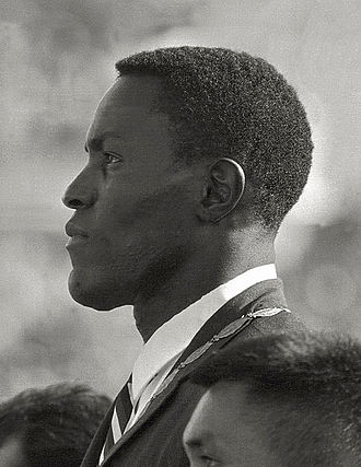 Rafer Johnson - Rafer Johnson at the 1960 Olympics