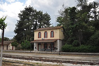 Railwaystation Myloi Greece.jpg