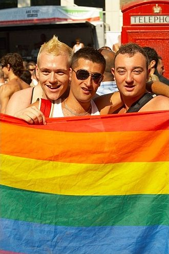 Europride - Participants at the Europride London 2006 event