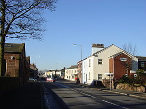 Rainhill - Rainhill village centre