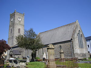 Bishop of Raphoe - The Cathedral of St. Eunan, Raphoe, the episcopal seat of the pre-Reformation and Church of Ireland bishops of Raphoe