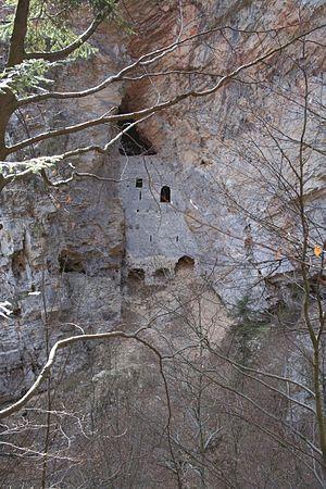 Cave castle - Image: Rappenstein