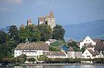 Rapperswil - Endingerhorn-Kapuzinerkloster-Lindenhof-Schloss-Einsiedlerhaus - Dampfschiff Stadt Rapperswil 2013-09-13 17-11-17.JPG