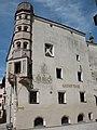 Rattenberg (Tirol), Gasthaus zur Traube, Südseite.JPG