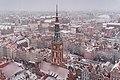 Ratusz Głównego Miasta w Gdańsku, widok z wieży Bazyliki Mariackiej.jpg