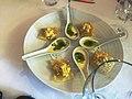 Ravioles en mise en bouche dans un restaurant de Castera-Verduzan.jpg