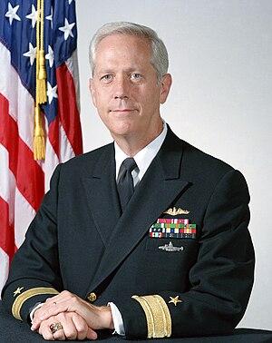 George W. Davis VI - Image: Rear Admiral George W. Davis VI
