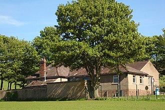 Eassie - Rear view of Eassie Primary School