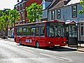 Red Diamond bus 406 in Broad Street - geograph.org.uk - 1928927.jpg
