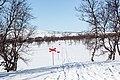 Red crosses mark the winter route in Sylan in Sweden 2.jpg