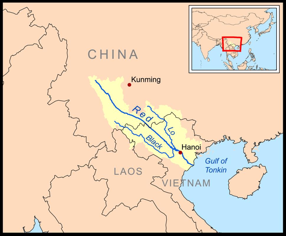 Red hong rivermap