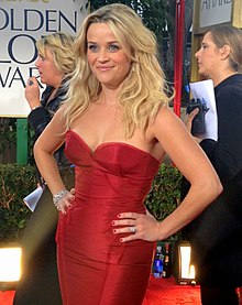 Reese Witherspoon ai Golden Globe 2012