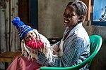 Rehema and her healthy newborn son, Tanzania (25856083348).jpg