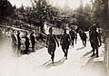 Reise Kaiser Karls I. an die Isonzofront, Istrien, Kärnten und Vorarlberg. in der Zeit vom 1-6.VI.1917. 4.6.1917 - Ankunft in Tarvis (BildID 15565163).jpg