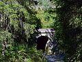 Reith bei Seefeld - Mittenwaldbahn - Wasserdurchlass vor Brücke Kaltwasserbach - 3.jpg